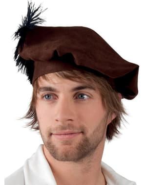 Pánský renesanční baret