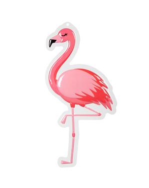 Decorazione da appendere con fenicottero - Flamingo Party
