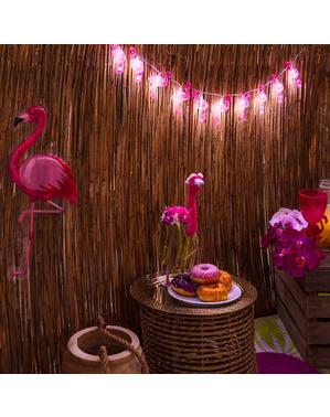 Závesná dekorácia Flamingo - Flamingo párty