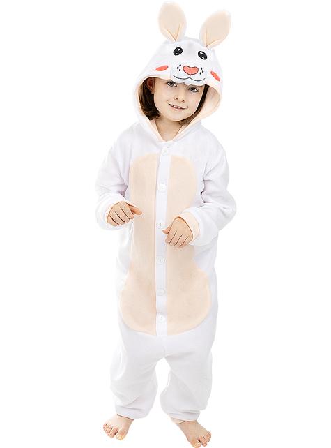 Disfraz de conejo onesie para niños