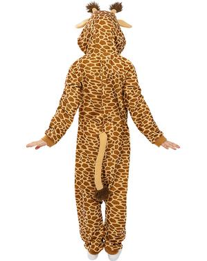 Disfraz de jirafa onesie para niños
