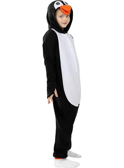 Disfraz de pingüino onesie para niños