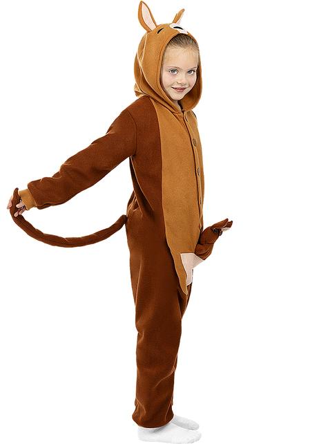 Disfraz de canguro onesie para niños