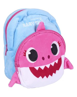 Pink Baby Shark Backpack for Kids