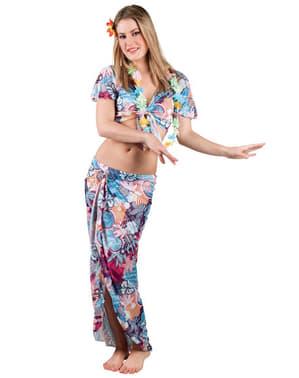 Fato de beleza havaiana para mulher
