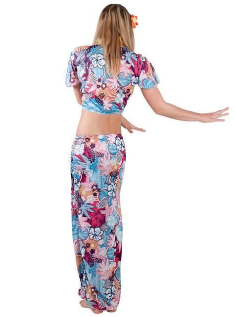 Disfraz de belleza hawaiana para mujer - mujer