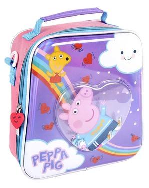 Lancheira de Peppa Pig para menina