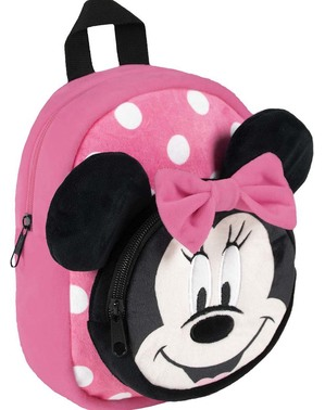Cartable peluche Minnie Mouse fille