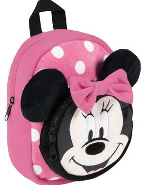Mochila de peluche Minnie Mouse para niña