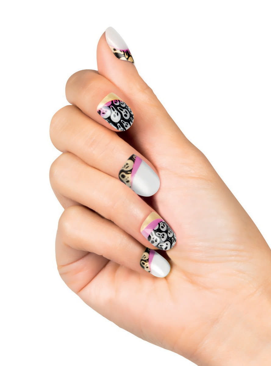 Women's Mexican Death Skeleton Nails