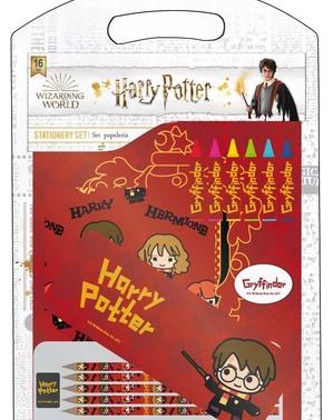 Set di cancelleria di Grifondoro per bambini - Harry Potter