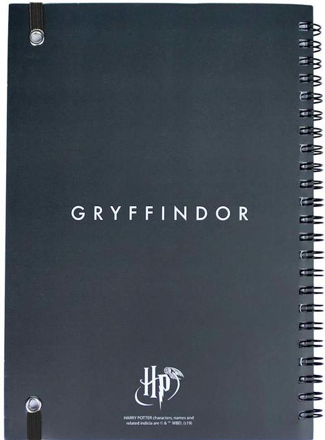 Set de papelería de Gryffindor - Harry Potter