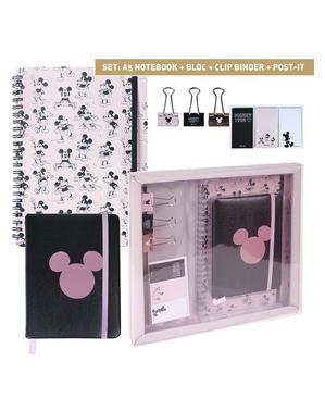 Set de papelería de Mickey Mouse