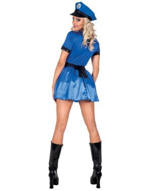 Suggestief politie kostuum voor vrouw