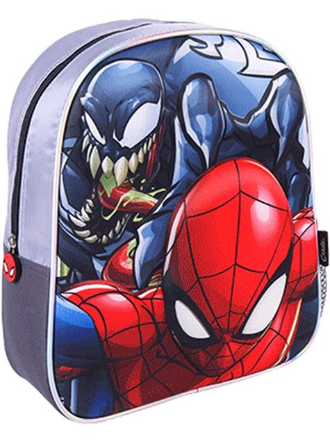 Mochila de Spiderman con luces para niño