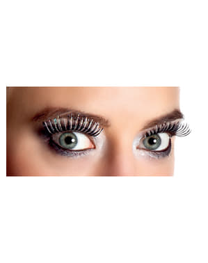 Woman's Black Ice Queen Eyelashes