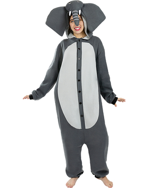 Elefanten Onesie Kostüm