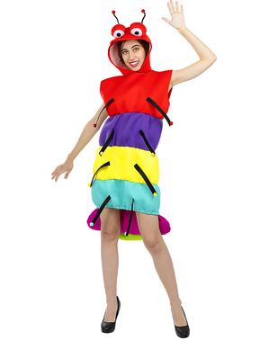 Disfraz de ciempiés para adulto