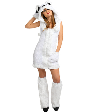 Polar Bear Costume for Women