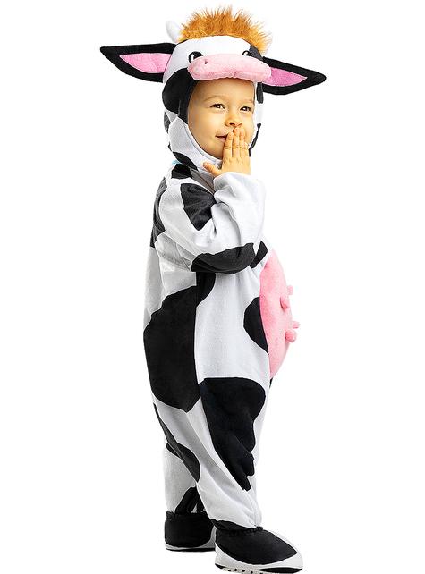 Koeienkostuum voor baby's