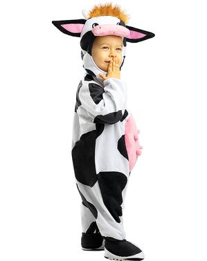 Fato de vaca para bebé
