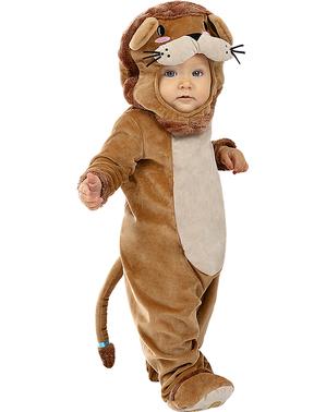 Leeuwen kostuum voor baby's
