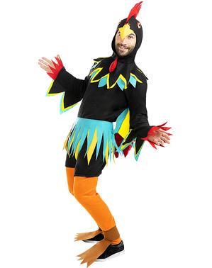 Rooster Costume for Adults