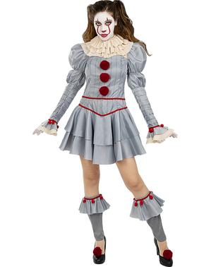 Pennywise Kostüm für Damen - ES: Kapitel 2