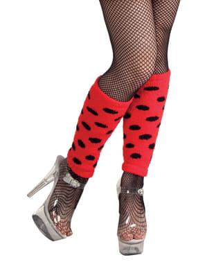 Women's Short Ladybird Leg Warmers