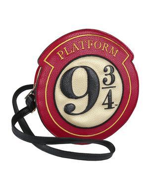 Gleis 9 3/4 Umhängetasche aus Kunstleder- Harry Potter