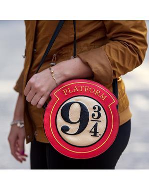 Geantă de umăr Platforma 9 și 3/4 din piele - Harry Potter