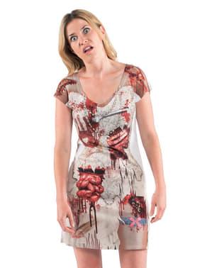 Klänning Zombiebrud dam