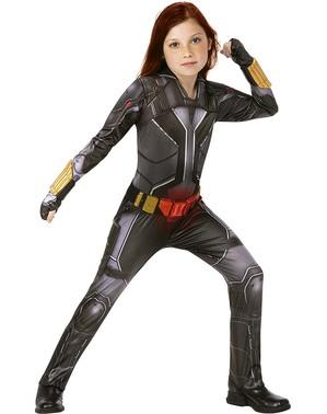 Deluxe Black Widow Costume for Girls - Black Widow