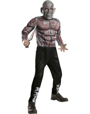 Drax Costume for Boys - Justice League
