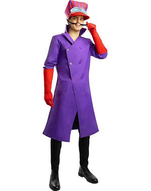 Dick Dastardly kostuum - Wacky Races