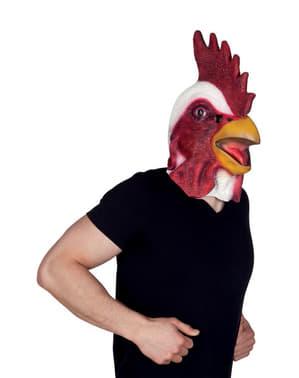 Masque coq de la basse-cour adulte