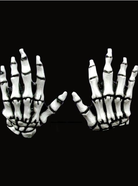 Mains Junior Skeleton Hands White