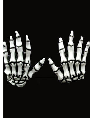Mani Junior Skeleton Hands White
