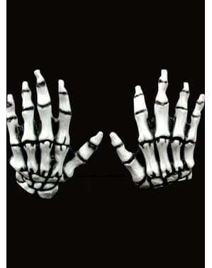 Weiße Junior Skeletthände