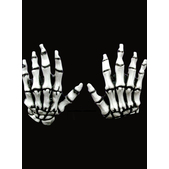 Manos Junior Skeleton Hands White