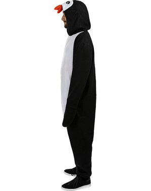 Onesie Penguin Costume for Adults