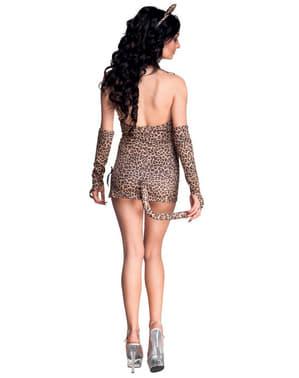 Costume da leopardo seduttore per donna