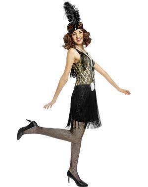 Chic Flapper Kostume
