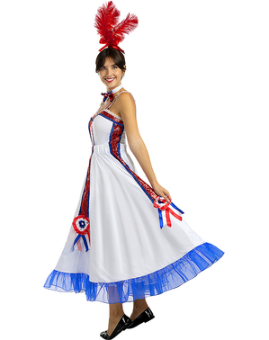 Дамски костюм за кан-кан
