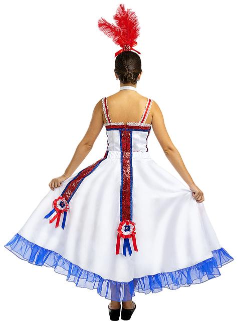 Disfraz Moulin Rouge para mujer