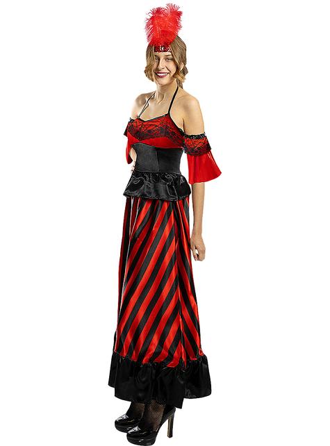 Can-Can kostuum voor vrouwen