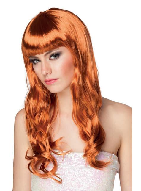 Woman's Sexy Long Redhead Wig