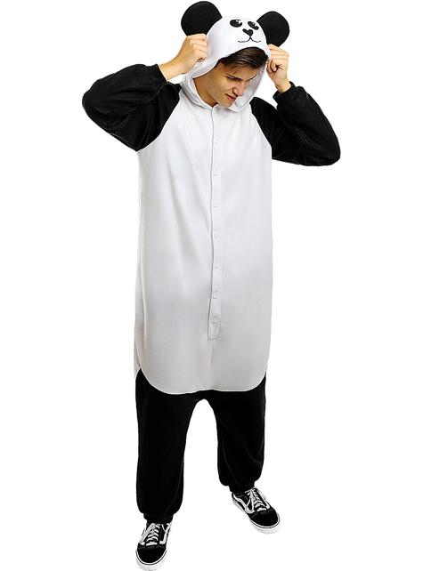 Strój onesie Panda dla dorosłych