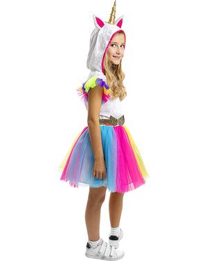 Dievčenský kostým jednorožca