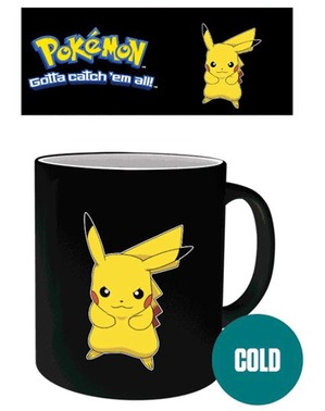 Kubek zmieniający kolor Pikachu - Pokemon